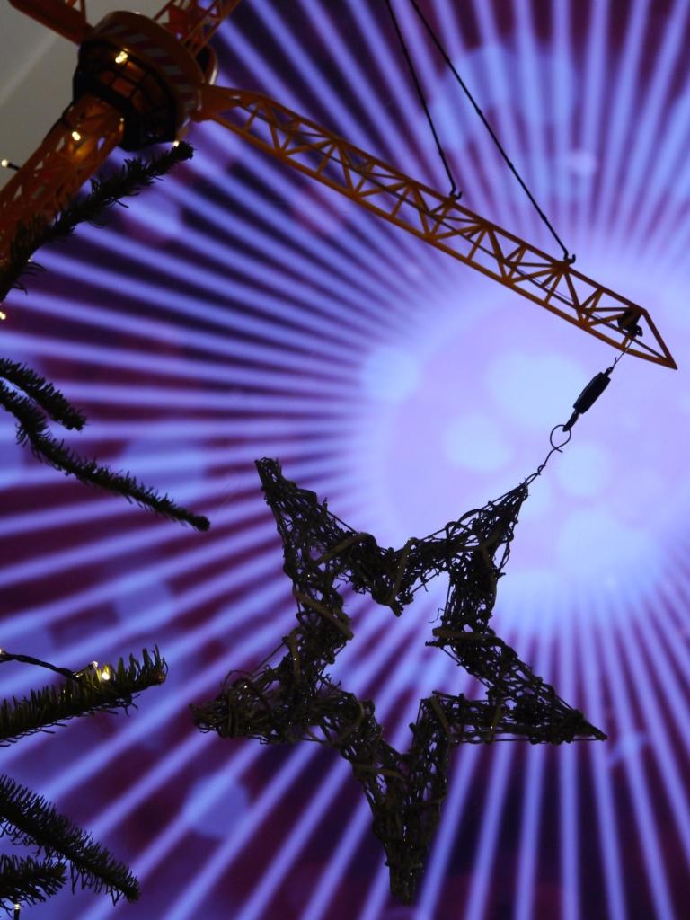 Royal Academy of Music tree crane and star