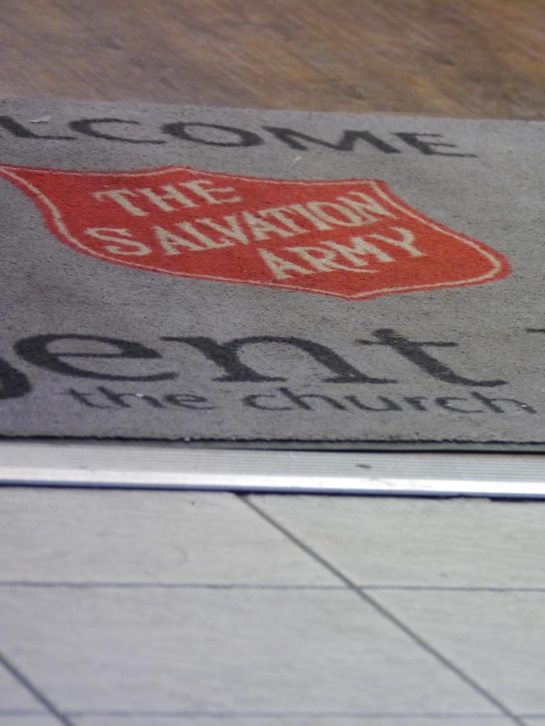 Salvation Army mat