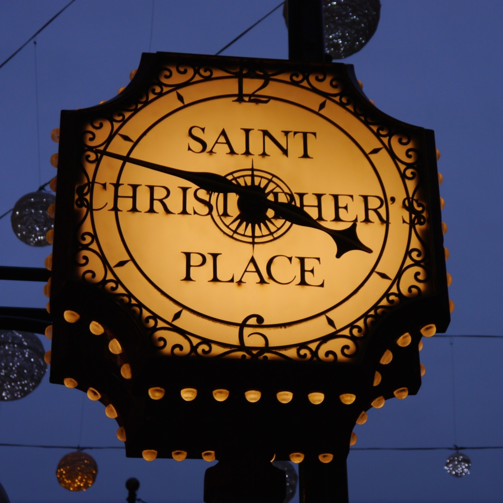 St Christopher's Place clock