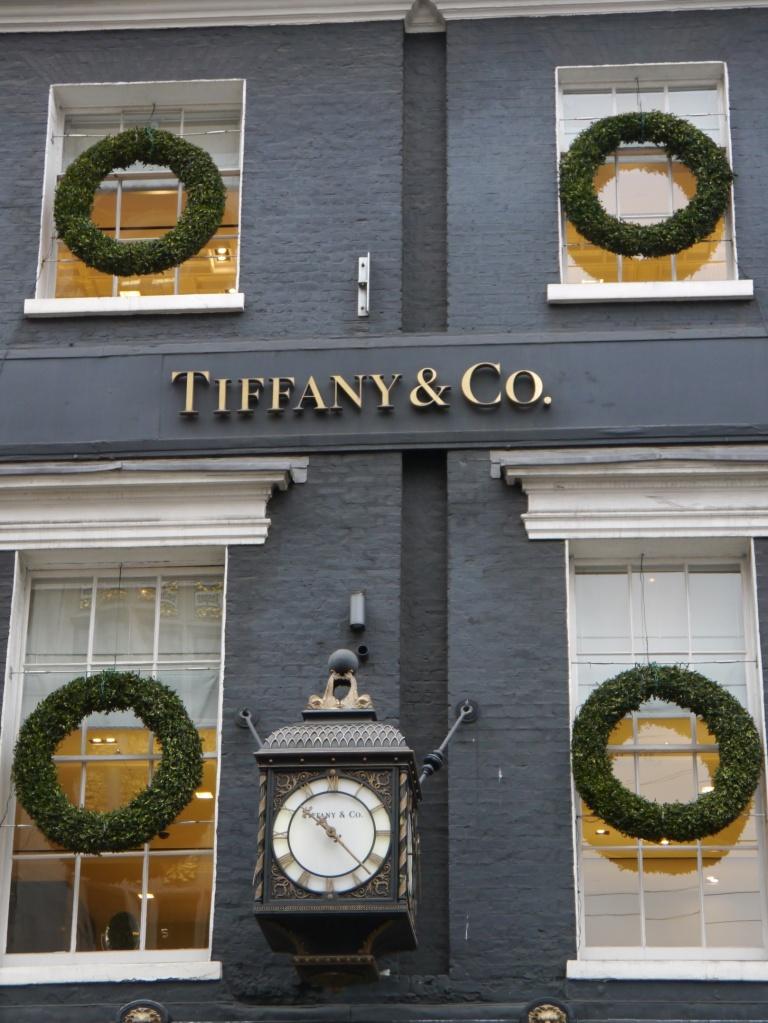 Tiffany facade Bond Street